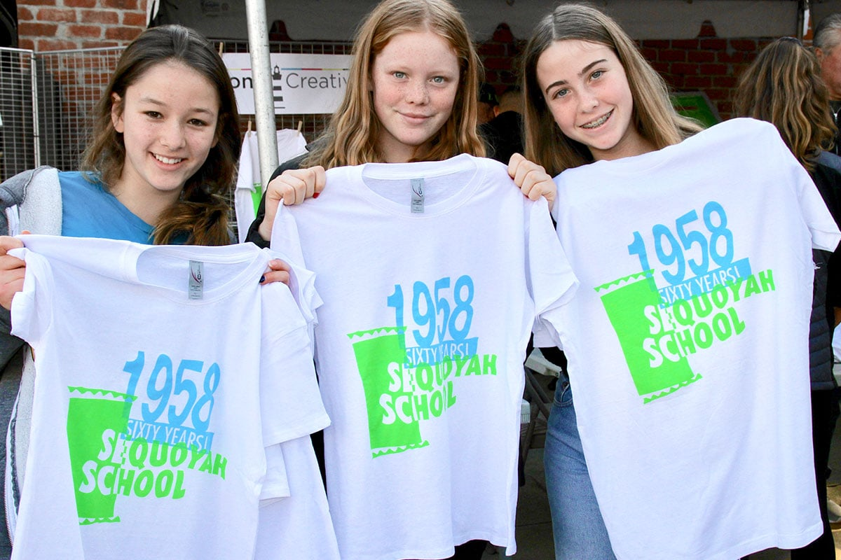 Sequoyah School 60th Celebration T Shirts IMG 4613 Ret